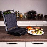 Гриль REDMOND SteakMaster  RGM-M801, черный/сталь, фото 1