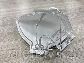 Маска противожидкостная четырёхслойная FFP3 (без клапана), фото 3