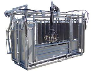 Гидравлический станок для фиксации крупного рогатого скота мясных пород Pearson Rancher Hydraulic Chute