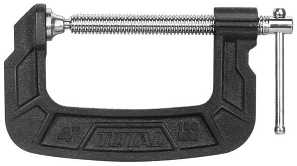 Струбцина, тип G, 100мм Total (THT13141)