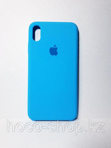 Оригинальный силиконовый чехол iPhone Xs Max