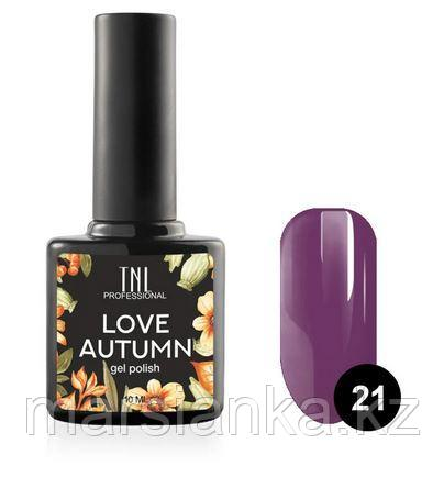 Гель-лак TNL Love Autumn #21, 10мл