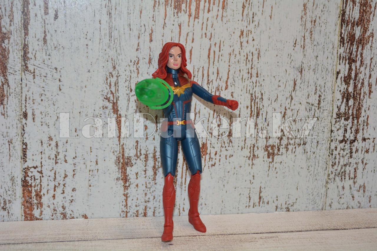 Фигурка героя шарнирная Черная вдова (Black Widow) - фото 7