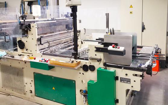 Автоматическая окошковклеивающая машина KOHMANN Universal F-1106/1 2003г.в. самонаклад в Один поток