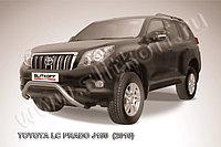 """Кенгурятник d76 низкий """"мини"""" Toyota Land Cruiser Prado 150 2009-13"""