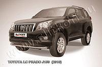 Защита переднего бампера d76 Toyota Land Cruiser Prado 150 2009-13