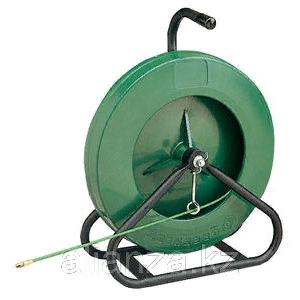 Устройство закладки кабеля с нейлоновым и стекловолоконным прутком, переносные GreenLee стекловолокно ( 45,7 м х 4,8 мм )
