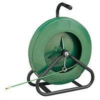 Устройство закладки кабеля с нейлоновым и стекловолоконным прутком, переносные GreenLee стекловолокно ( 61 м х 4,8 мм )