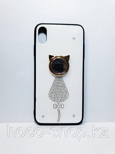 Чехол Chanel с кольцом iPhone Xs Max