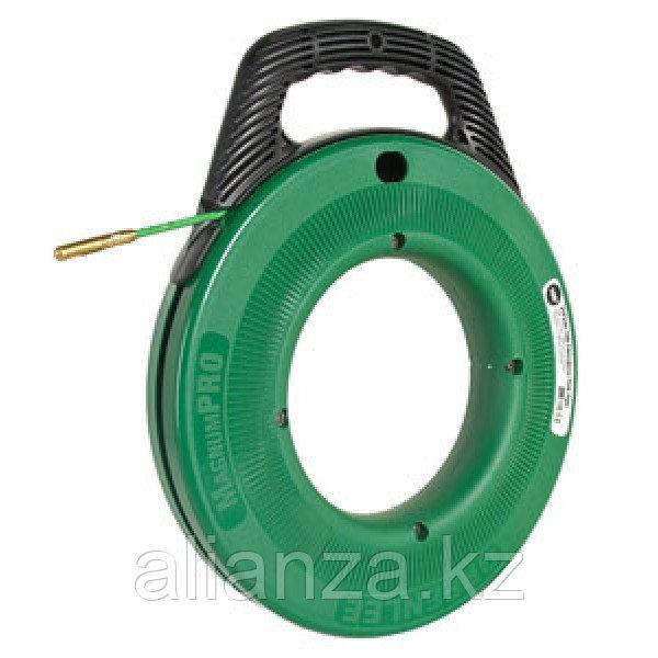 Устройство закладки кабеля с нейлоновым и стекловолоконным прутком, переносные GreenLee стекловолокно ( 30,5 м х 4,4 мм )