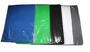 Зелёный фон 1х1.5м Студийный, тканевый, фото 2