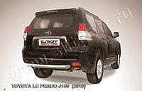 Защита заднего бампера d76 короткая Toyota Land Cruiser Prado 150 2009-13