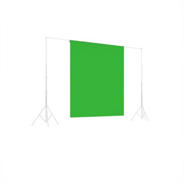 Зелёный фон 1х1.5м Студийный, тканевый