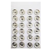 Кнопка пришивная PBM-3 мет. 14мм. никель