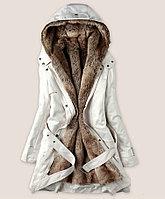 Женская куртка с искусственным мехом внутри, фото 1