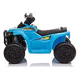 ZHEHUA Электроквадроцикл 6V/4.5Ah,20W*1,колеса пластик  XH116-Blue, фото 2