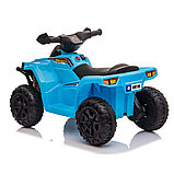 ZHEHUA Электроквадроцикл 6V/4.5Ah,20W*1,колеса пластик  XH116-Blue, фото 3