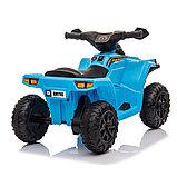 ZHEHUA Электроквадроцикл 6V/4.5Ah,20W*1,колеса пластик  XH116-Blue, фото 4