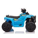 ZHEHUA Электроквадроцикл 6V/4.5Ah,20W*1,колеса пластик  XH116-Blue, фото 5