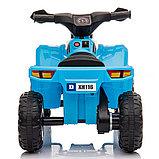 ZHEHUA Электроквадроцикл 6V/4.5Ah,20W*1,колеса пластик  XH116-Blue, фото 6