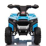 ZHEHUA Электроквадроцикл 6V/4.5Ah,20W*1,колеса пластик  XH116-Blue, фото 7