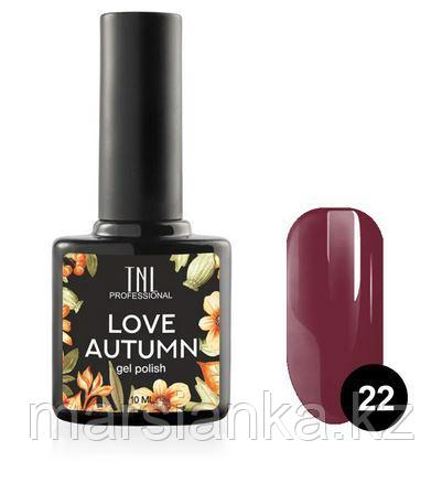 Гель-лак TNL Love Autumn #22, 10мл