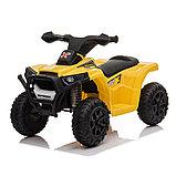 ZHEHUA Электроквадроцикл 6V/4.5Ah,20W*1,колеса пластик XH116-White, фото 2