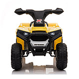 ZHEHUA Электроквадроцикл 6V/4.5Ah,20W*1,колеса пластик XH116-White, фото 3