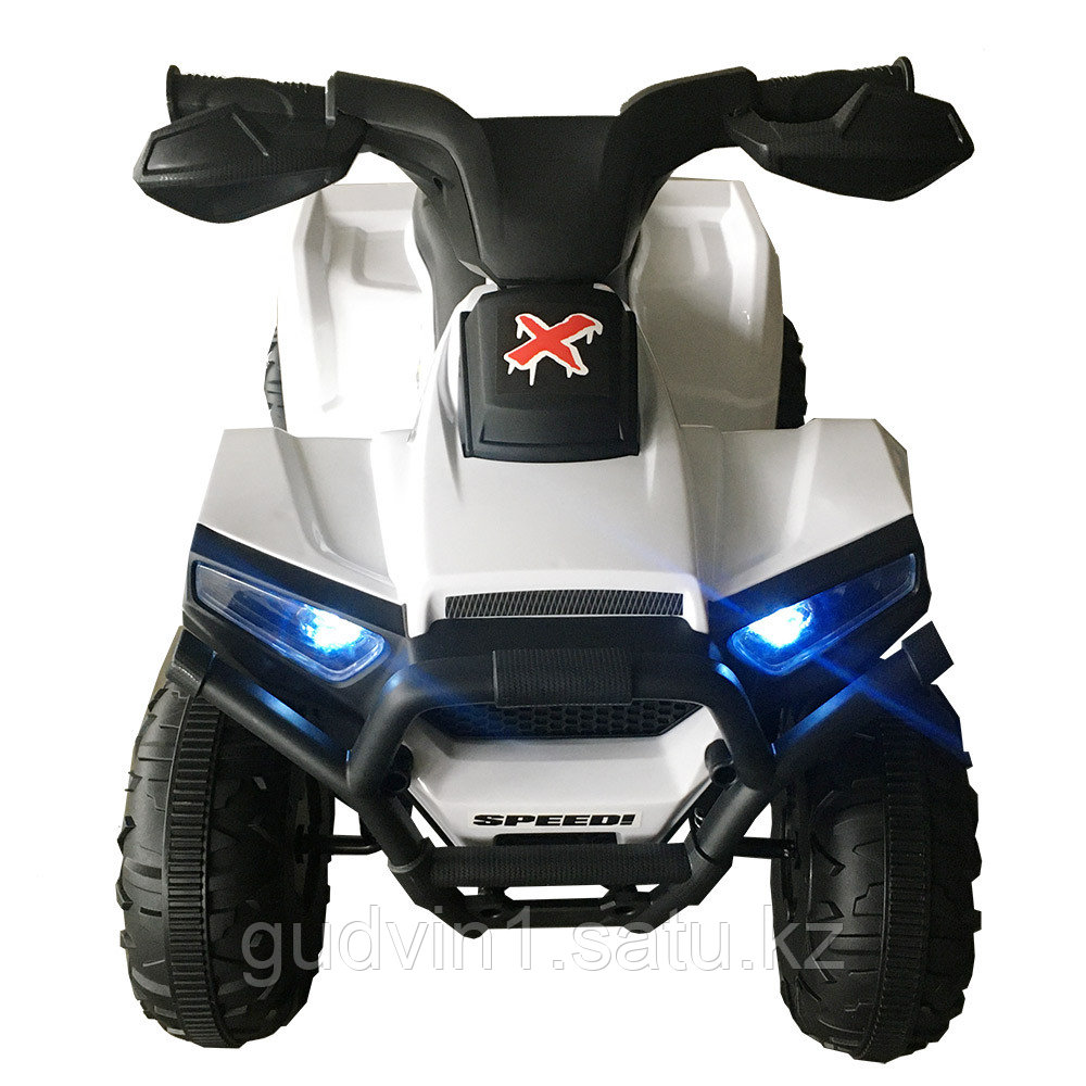 ZHEHUA Электроквадроцикл 6V/4.5Ah,20W*1,колеса пластик XH116-White