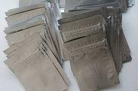 Вакуумный пакет гладкий 15*22см 2*100мк(застежка) непрозразный алюминий