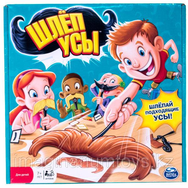 Детская активная настольная игра «Шлеп усы»
