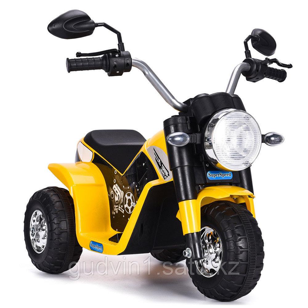 ZHEHUA Электромотоцикл 6V/4,5Ah*1,20W*1,колеса пластик 916-Yellow