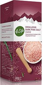Соль гималайская розовая (крупная), 500 г