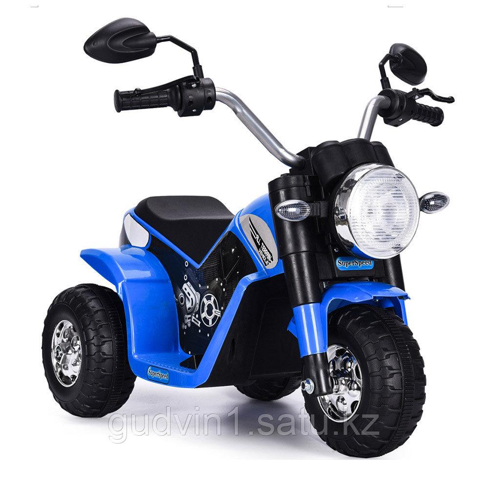 ZHEHUA Электромотоцикл 6V/4,5Ah*1,20W*1,колеса пластик 916-Blue