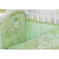 Комплект в кровать Золотой гусь Кошки-мышки зелёный, фото 1
