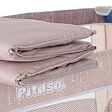 PITUSO Манеж ARIA ЖИРАФ, одноуровневый, лаз на молнии P618-MIX04, фото 4