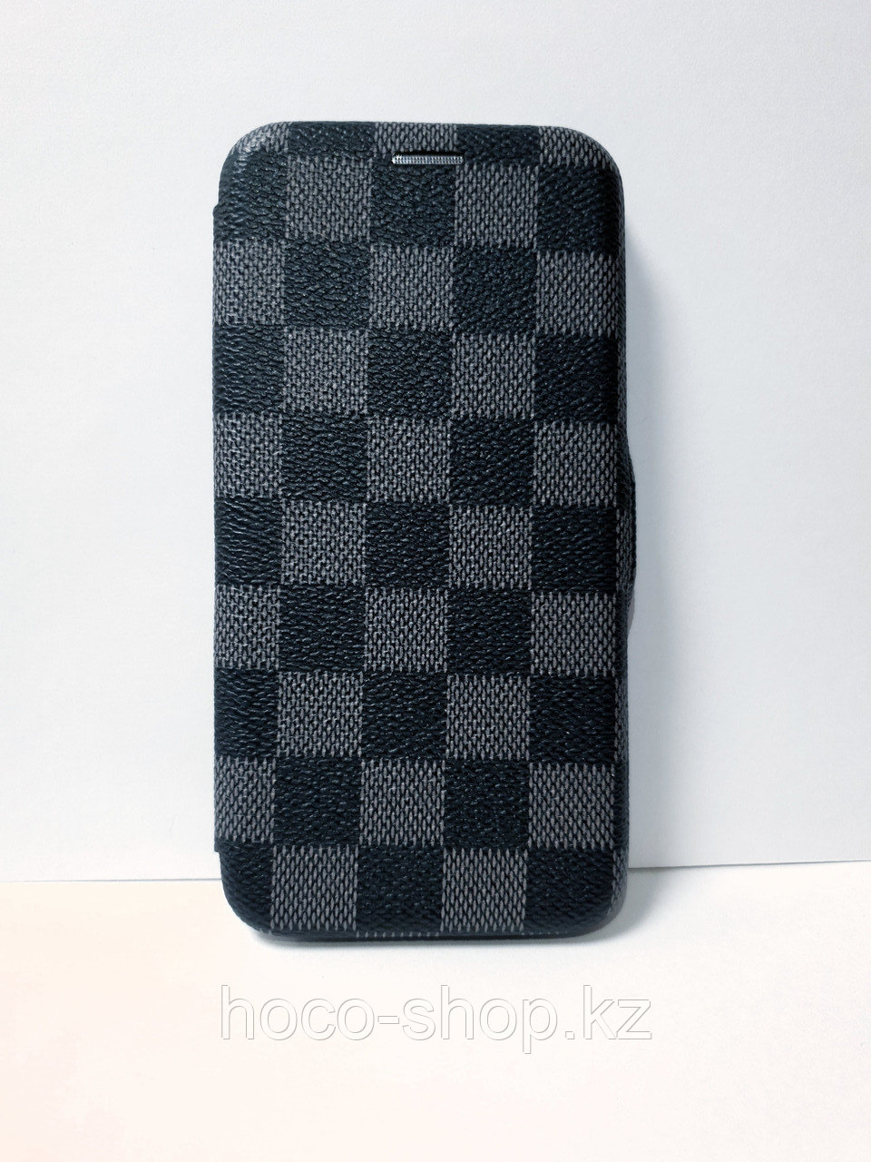 Кожаный чехол-книжка Louis Vuitton iPhone Xs Max - фото 1