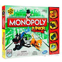 Моя первая Монополия настольная игра Hasbro Monopoly