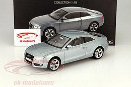 1/18 Norev Коллекционная модель Audi A5 купе, Серебристый