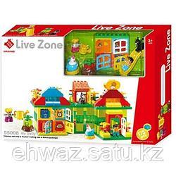 """Конструктор Smoneo """"Live Zone"""" 55008 (аналог Lego Duplo) 175 дет."""