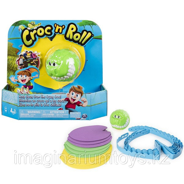 Подвижная развлекательная игра «Croc-n-Roll» Spin Master