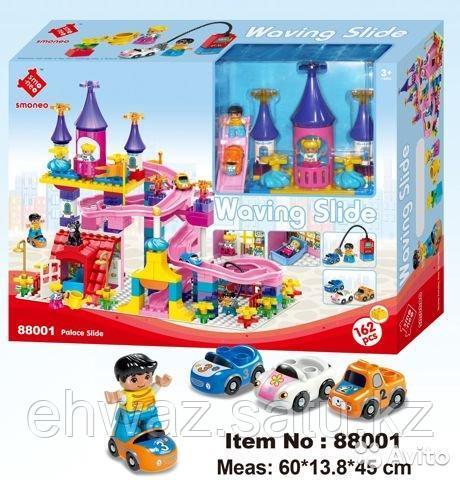 "Конструктор Smoneo ""City Waving Slide"" 88001 (аналог Lego Duplo) 162 дет."