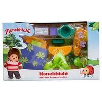 Набор аксессуаров для спальной комнаты Monchhichi (с фиолетовым ковром) 81529