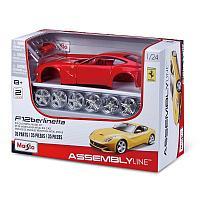 Детская машина Ferrari F12 berlinetta Maisto.Assembly Line