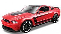 Детская машина Ford Mustang Boss 302 Maisto.Assembly Line