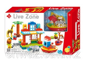 """Конструктор Smoneo """"Live Zone"""" 55009 (аналог Lego Duplo) 77 дет."""