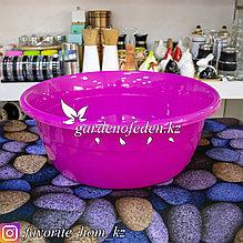 Чашка для хранения универсальная. Материал: Пластик. Цвет: Розовый. Объем: 10л.