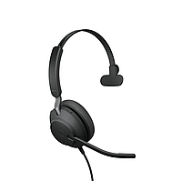 Проводная гарнитура Jabra Evolve2 40, USB-A, MS Mono (24089-899-999), фото 1