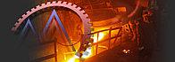 Плита отбойная роторной  мельницы, отливки из стали