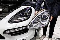 Передние фары рестайлинг стиля для Porsche Cayenne 958 2009-2014, фото 1